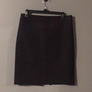 J. Crew Black No. 2 Pencil Skirt size 6